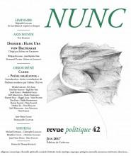 Revue NUNC : poésie israélienne contemporaine – 20 poètes, 47 poèmes