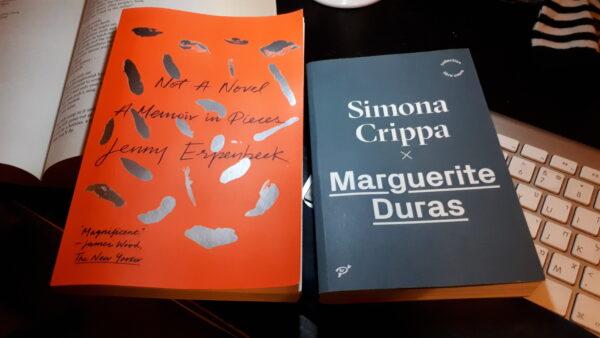 Not A Novel, par Jenny Erpenbeck, et Marguerite Duras, par Simona Crippa